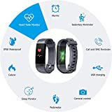 LETSCOM Fitness Tracker Color Screen HR, Activity