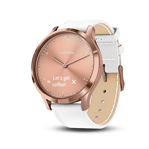 Garmin Vivomove HR Rubber Watch (White)