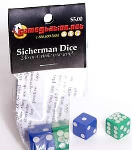 Sicherman Dice (1 pair)