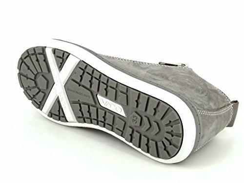 Vado 51004-420, Bottes pour Garçon gris gris