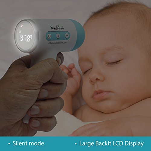 Amazon.com : Non-Contact Digital Infrared Forehead Baby Thermometer ...