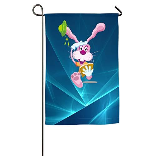 - Shenigon Cartoon Rabbit Home Family Party Flag 100 Hipster Welcomes The Banner Garden Flags