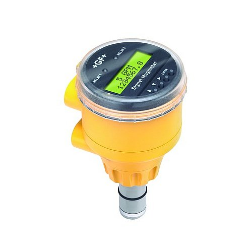 GF Signet 3-2551-P0-41 The 2551 Magmeter Flow Sensor, Polypropylene Body, 316SS Electrodes, Display, Frequency/S3L Output, Use with 8900 or 9900, 0.5'' to 4'', 11''