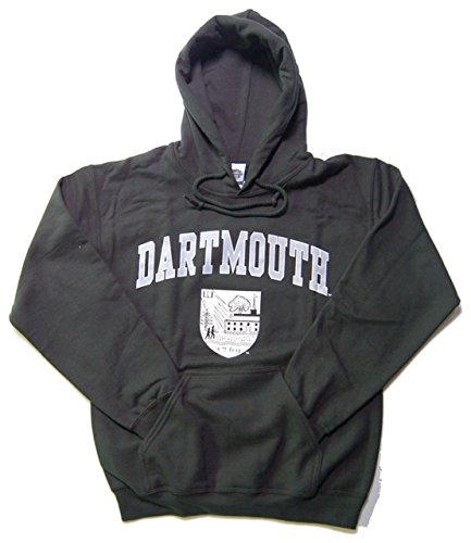 Dartmouth Big Adult Arch and Seal Hooded Sweatshirt - Green , - Shop Dartmouth Gift