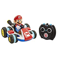 Ever wonder what would happen if your Mario Kart RC got struck by Lightning? It would shrink down of course! The world of NINTENDO is happy to bring you the new Mini RC racer. Have Mario race in standard mode or flip into anti-gravity mode to...