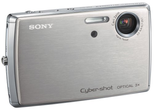 Sony Cybershot DSCT33 5.1MP Digital Camera with 3x Optical Zoom (Includes Docking Station) (Sony Camera Docking Station)