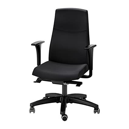 Exceptionnel IKEA Swivel Chair With Armrests, Black 26386.11238.1014