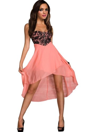 Amour Women's Sequin Bandeau Strapless Dress Clubwear