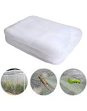 Yangfei 1 Stuks Insectenbescherming Net, Plantaardige Netting Mesh Transparante Tuin Insecten Netting Grow Tunnel Fijne Mesh voor Planten Groente Fruit Gewassen (6x2.5m)