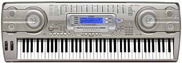 Casio WK-3800 - Teclado MIDI (USB, 10 kg) Plata: Amazon.es ...