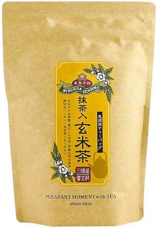 三國屋善五郎 抹茶入玄米茶 急須用 ティーバッグ 5g×20p お茶 日本茶 緑茶 抹茶 玄米茶