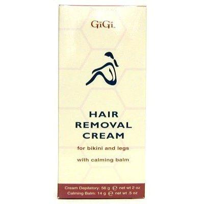 Gigi Hair Removal Cream with Balm For Bikini & Legs (Pack of 2)