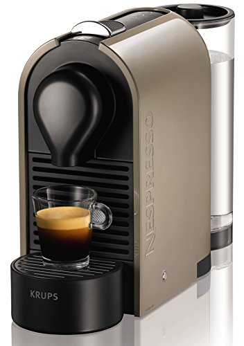 Nespresso U Taupe (Gris arena) XN250AP4 Krups - Cafetera monodosis...