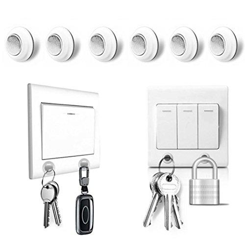 refrigerator magnet key holder - 9