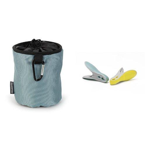 Brabantia Premium Peg Bag with Pegs Assorted Colours