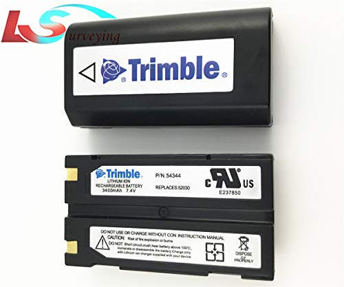 New 2PCS 3400mAh/7.4V Lithium-Ion Battery 54344 for Trimble 5700 5800 R8 R7 by LS2015 (Image #3)