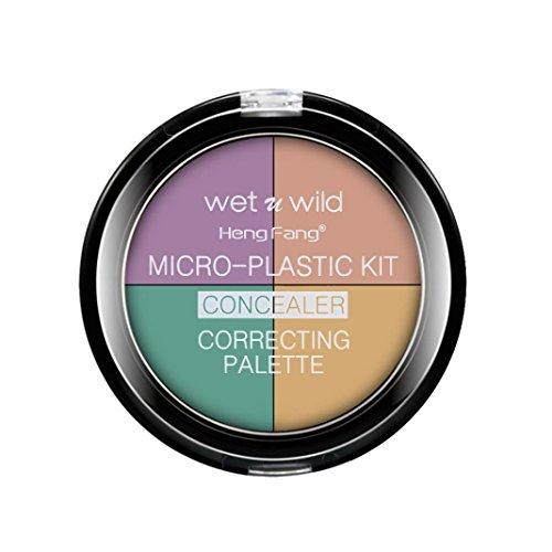 Green/Pink/Purple Color Corrector Palette Cream Makeup Concealer (A)