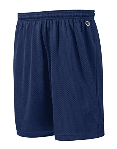 Champion Men`s Polyester Mesh Short Navy