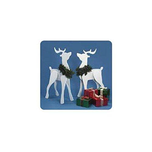 Woodworking Project Paper Plan to Build Proud Deer Reindeer Plan