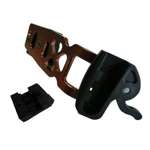SA Sports Empire Crossbow Side Mount Quiver Bracket with Claw Mount, Bronze