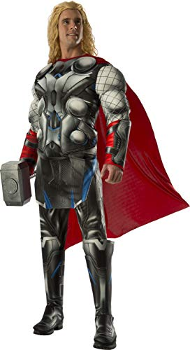 Rubie's Men's Avengers 2 Age Of Ultron Deluxe Adult Thor Costume, Multi, -
