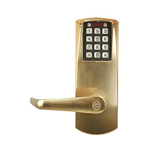 E2031XSLL-606-41 Kaba Access E-Plex 2000 Cylindrical Lock, 100 Access Codes, 1,000 Audit Events, 2-3/4