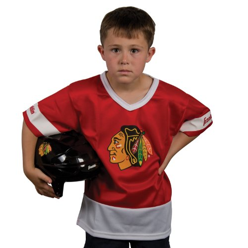 Franklin Sports NHL Chicago Blackhawks Youth Team Set