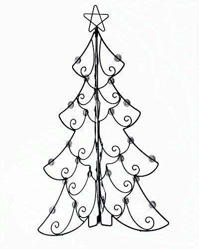 gorgeous folding tree tabletop floor christmas card mahogany metal