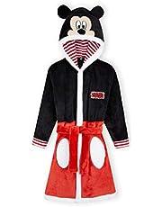 Disney Mickey Mouse Kids badjas, fleece badjas voor jongens meisjes, Disney geschenken