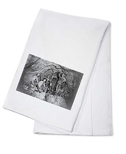 Chance Mine Lead Mining In Coeur Dalene  Id Photograph  100  Cotton Absorbent Kitchen Towel