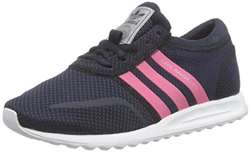 adidas Los Angeles Unisex Kids Sneakers Blue (Legend Ink S10/Spring Pink S16-st/Ftwr White)