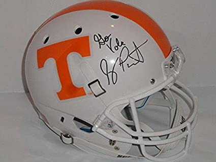 a0e86437a10 Amazon.com: Jeremy Pruitt Signed Tennessee Volunteers Full-size ...