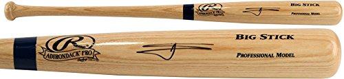 Willie Calhoun Los Angeles Dodgers Autographed Blonde Big Stick Bat - Fanatics Authentic Certified - Autographed MLB (Big Stick Mlb Bat)