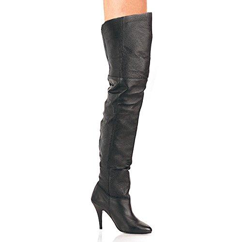 Pleaser Legend-8868 - sexy cuir cuissardes-bottes talon hauts chaussures femmes 36-48