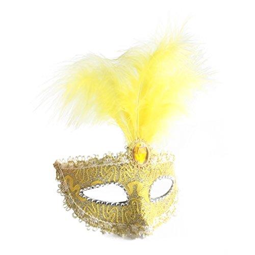 Dreamowl Sequins Lace Floral Mardi Gras Masquerade Costume Mask