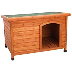 Ware Manufacturing Premium Plus Fir Wood Dog House - Medium