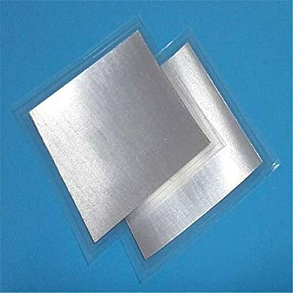High Purity Indium Sheet Research Material Pure Indium Foil 50mm50mm0.1mm  for Research and Development Laboratory: Amazon.com: Industrial & Scientific