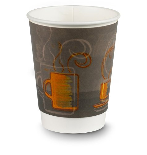 EcoSmart AROCOF-01-12-C 12 oz Capacity, Aroma Insulair Triple Wall Insulated Paper Hot Cup (20 Packs of 30)