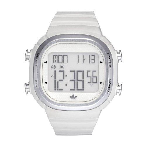 Adidas Originals ADH2120 - Reloj de Caballero de Cuarzo, Correa de Caucho Color Blanco: Amazon.es: Relojes