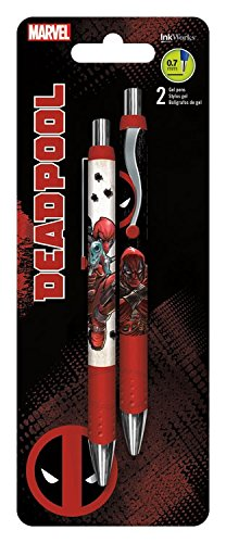 Marvel Comics: Deadpool Gel Pen 2-Pack