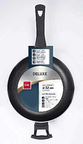 Cok 180-0089 Mango Deluxe - Sartén con mango (36 cm, aluminio)