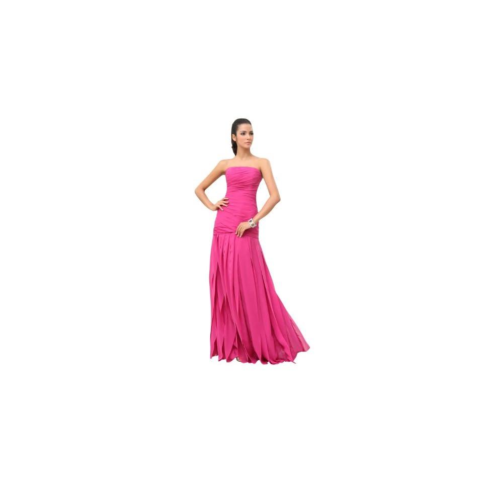 ésoldé Trumpet/Mermaid Strapless Draping Floor Length Bridesmaids Dresses 2