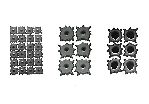 (3 Sets of Bullet Hole Stickers - Total of 36 Different Caliber Decals - Great for Your Room Car Truck Fridge Crafts)