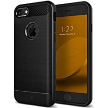 Caseology Vault Series iPhone 8 Cover Case with Thin Rugged Flexible for Apple iPhone 8 (2017) Only - Black