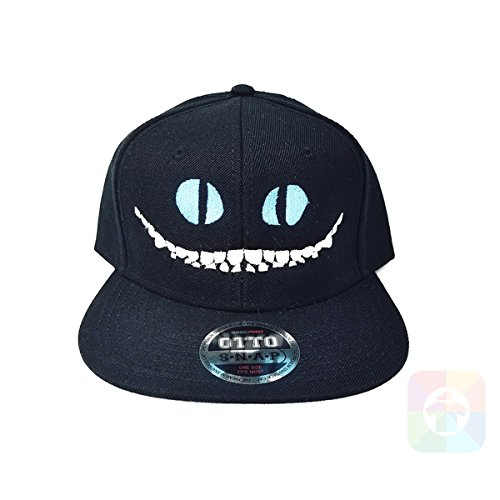 Custom Tshirts and Hats Cheshire Cat Flat Six Panel Pro Style Snapback OttoCap #1868