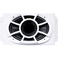 Wet Sounds REV 6X9-SM-W (White) REV Series 6x9 HLCD Speakers w/ Surface Mountable Enclosures & Grilles (1 pair)