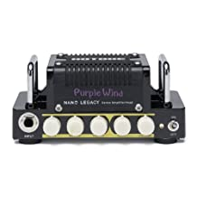 Hotone Nano Legacy Purple Wind 5-Watt Compact Guitar Amp Head with 3-Band EQ