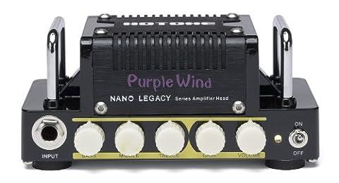 Hotone Nano Legacy Purple Wind 5-Watt Compact Guitar Amp Head with 3-Band EQ (Marshall 1959 Super Lead)