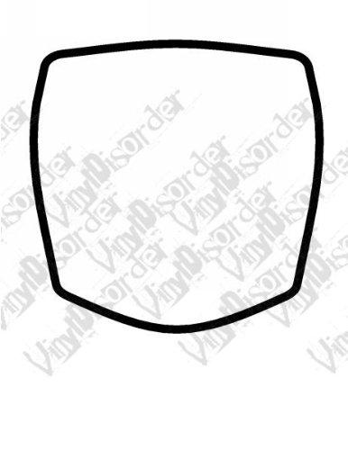 Amazon.com: Vinyl Disorder frames0460 Custom Frame Frames Sign Signs ...