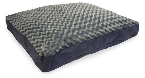 NAP Pet Bed Ultra Plush Deluxe Pet Pillow, Gray, 27-Inch by